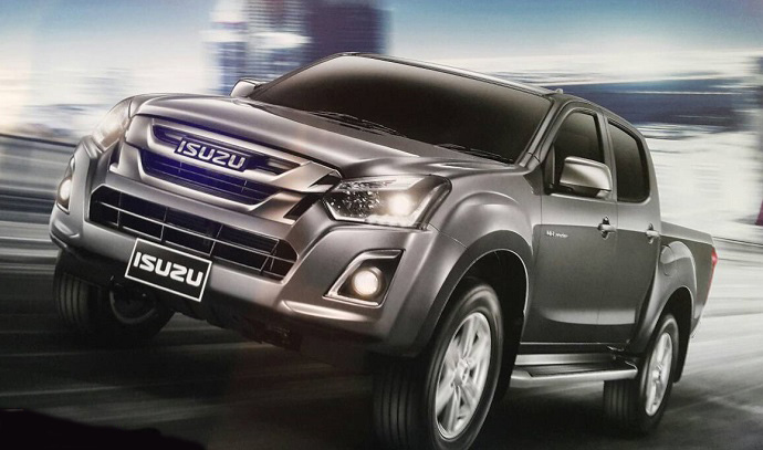 Image result for Isuzu DMax 2018