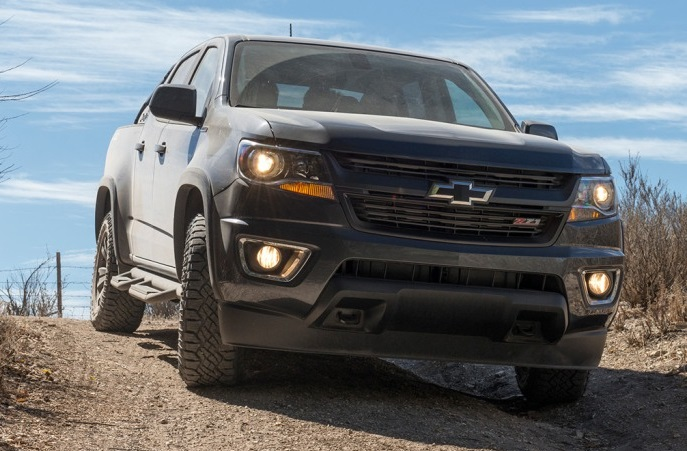 2017 Chevy Colorado Z71