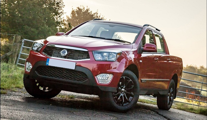 2017 SsangYong Musso