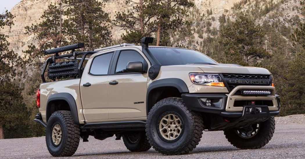 Chevy Silverado Custom Wheels >> 2019 Chevrolet Colorado ZR2: New Version, Design, Specs - New Truck Models