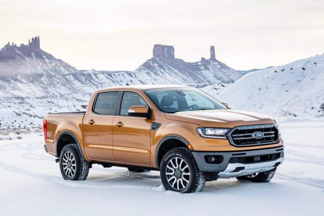 2020 Ford Ranger front view